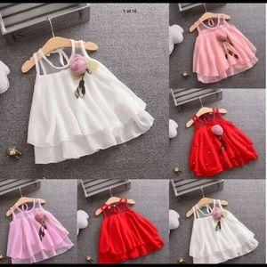 NWT beautiful little girls dress